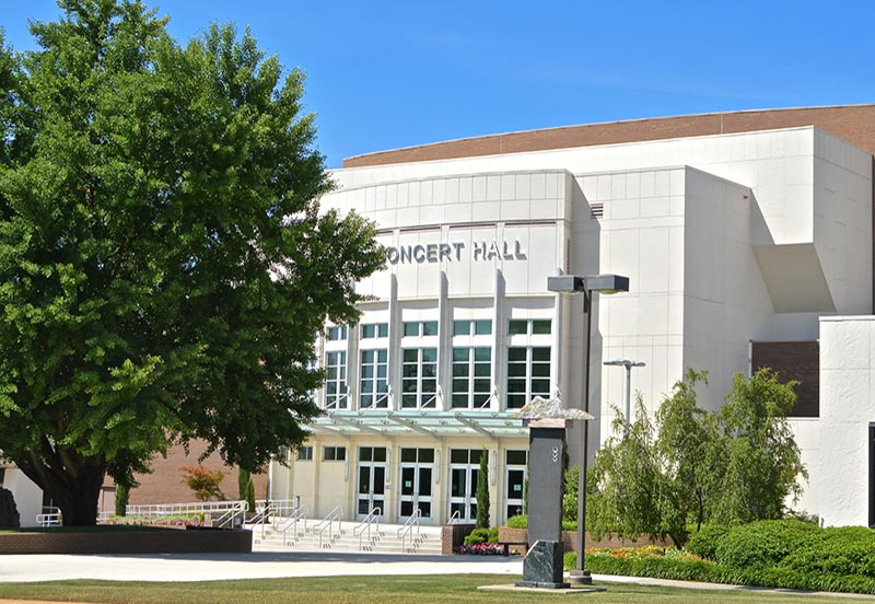 Mark Smith Concert Hall at Propst Area