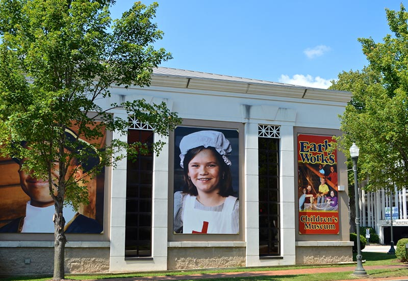 Early Works Childrens Museum of Art in Huntsville