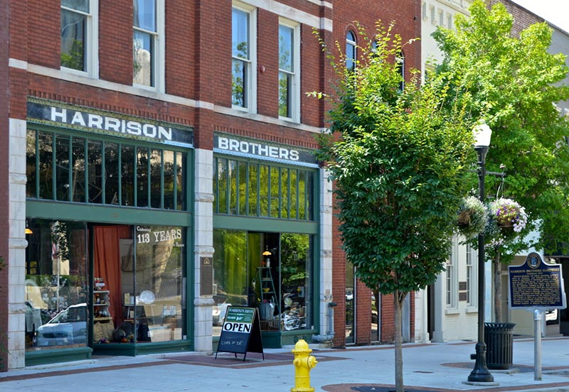 Historic Harrison Brothers Hardware Store Downtown Huntsville