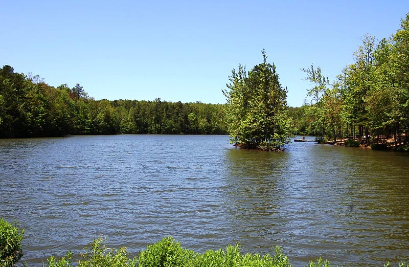 Lake at the Madison County Nature Trail